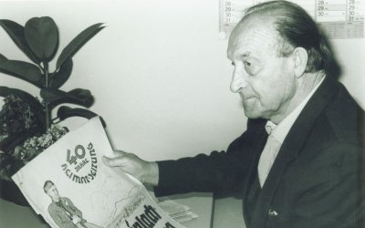 <p>Paul Gucker, 1980er-Jahre</p>  Quelle: Stadtarchiv Mössingen